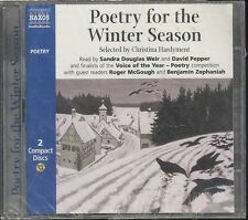 Poetry for the Winter Season audiobook CD NEW Poetry