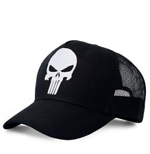 Punisher Mütze -Punisher Cap -DC Comics Punisher Trucker Cap -Original LOGOSHIRT