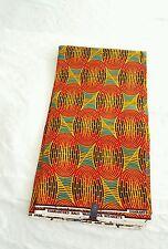 New African Wax Print Fabric Ankara Stunning Bright Bold Colors Sold Per Yard
