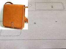 Leather Pattern DIY Designs Bag Paper Sweing Template Drawing Tools 9010