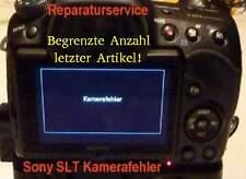 """NUOVO! Sony SLT a 57/65/77 servizio di riparazione """"errore fotocamera"""", Def. verschlußmotor"""