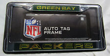 NFL LASER-CUT LICENSE PLATE FRAME - GREEN BAY PACKERS