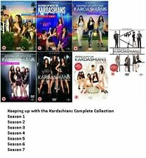 Keeping Up With The Kardashians Complete Series 1-7 DVD Season 1 2 3 4 5 6 7 NEW