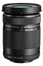 Olympus M.Zuiko Zoom Digital 40-150mm F/4.0-5.6 R Lens Black Brand New No Box