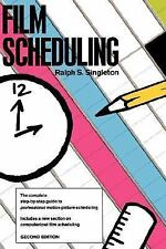 Film Scheduling: Or, How Long Will It Take to Shoot Your Movie?
