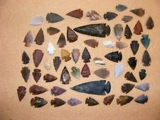 50+ Arrowhead collection Part of Huge Texas Estate stone flint bs-art 12