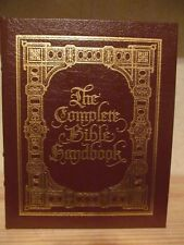 E51 ~ EASTON PRESS ~ LEATHER ~ HARDBACK ~ THE COMPLETE BIBLE HANDBOOK