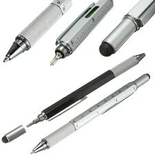 Construction Multi-Function Ballpoint Pen with Stylus & Tool's screwdriver