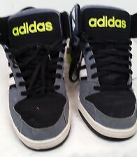 Men's Adidas Neo BB9Ties Black Mid Sneaker Lifestyle gray size 9 Shoes