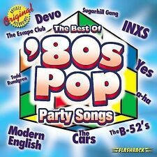 Best of 80s Pop: Party Songs by Various Artists (CD, Apr-2002, Flashback...
