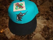 FLORIDA MARLINS 94' cap hat NEWWERA DIAMOND 90'S VINTAGE FITTED SZ 7 1/2 WOOL