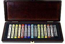 Rembrandt artists pastel-full size pastels - 15 couleurs-boîte en bois set