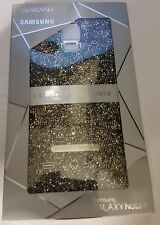 Authentic Swarovski Crystal Battery Back Cover Samsung Galaxy Note 4 SILVER