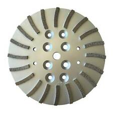 "10"" Concrete Grinding Head Wheel for Edco, Blastrac, MK, Husqvana Floor Grinders"