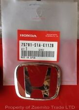 Honda Accord Type R REAR EMBLEM JDM H Red Genuine OEM 75701-S1A-E11ZB Badge ATR