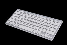 New Silver Wireless Bluetooth Keyboard For Android MAC Windows OS System  YK