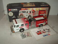 Corgi 54801 E-One Top Mount Pumper for Town of Fishers Diecast in 1:50 Scale.