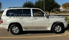 1998-2007 Lexus LX470 LX 470 4Pc Chrome Pillar Post Stainless Steel