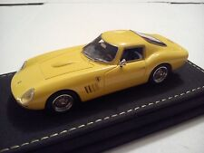 Look Smart Ferrari 250 GT Nembo Coupe 1966 Yellow # 08 of 50 Leather Base N BBR