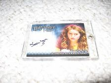 Harry Potter Half Blood Prince Autograph Card Lavender Brown Jessica Cave