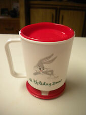 Vintage 1990, Holiday Inn / Bugs Bunny Advertising Travel Coffee Mug / Cup
