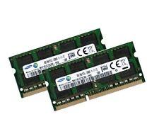 2x 8GB 16GB DDR3L 1600 Mhz RAM Speicher Gigabyte U35F Notebook PC3L-12800S
