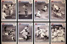 FREE* 1946 WORLD SERIES CARD SET ST LOUIS CARDINALS BOSTON RED SOX SLAUGHTER ++