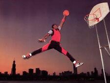 """63 Michael Jordan Slam Dunk Jump 32""""x24"""" Poster"""