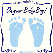 Greeting Card: Congratulations on Your Baby Boy by Twin Sisters CD 2007