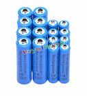 8xAA 3000mAh+8x AAA 1800mAh 1.2V NI-MH Rechargeable Battery 2A 3A Blue Cell