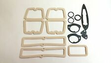 1962-1964 Chevy Nova Paint Gasket Seal Kit Tail Light Parking Lens Door Handle