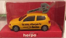 """Herpa 178709 – VW Polo """"Schlüsseldienst"""", H0 1:87, neu + originalverpackt"""