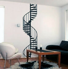Stair Wall Decal Modern Spiral Staircase Decorating Ideas for Home Decor