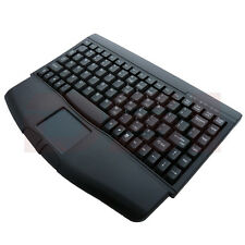 Solidtek Mini Black USB Keyboard with Touchpad KB-ACK540UB