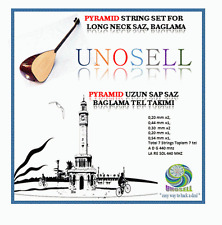 PYRAMID STRING SET FOR TURKISH STRING INSTRUMENT LONG NECK SAZ !!!!!!!!!!!!!!!!