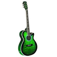 INDIANA MADISON DELUXE QUILT GREEN MAD-QTGR Guitar NEW
