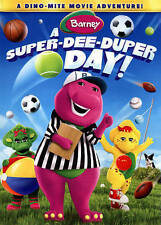BARNEY - A SUPER-DEE-DUPER DAY - DVD NEW