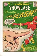Showcase #8 2ND APP The FLASH! ORIGIN & 1ST CAPTAIN COLD! KEY DC 1957 VG+ 4.5