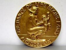 1938 Life As A Dance Society Of Medalists Medal #17 Medallic Art Co