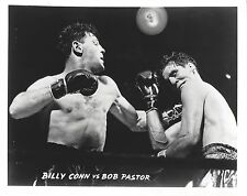 BILLY CONN vs BOB PASTOR 8X10 PHOTO BOXING PICTURE