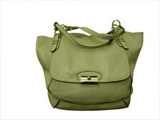 COACH Kristin Pinnacle Leather Tote in Parchment F19385