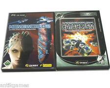 Homeworld II 2 & Homeworld 1 Cataclysm in Deutsch PC mit Handbüchern