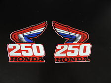 1987 THICK SERIES HONDA CR 250 TANK/SHROUD DECAL SET VINTAGE MOTOCROSS AHRMA