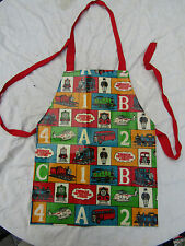 CHILD'S WIPE DOWN APRON PAINTING / COOKING THOMAS THE TANK BRITT ALLCROFT SHREDS
