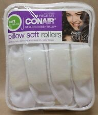 Conair Pillow Soft Rollers 18 Pc Set Styling Essentials Curlers Soft n Natural