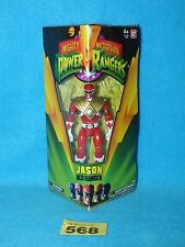 "Mighty morphin power rangers legacy red ranger 5"" action figure"