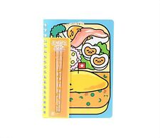 Gudetama Spiral Notebook: Lunch Sanrio Japan