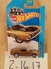 Hot Wheels 2014 1971 Mustang Mach 1 Super Treasure Hunt With Real Riders