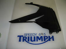 TRIUMPH DAYTONA 675 R RIGHT HAND LOWER FAIRING JET BLACK  2014 T2309591