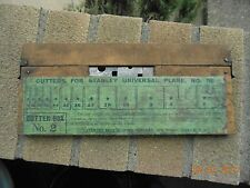 Stanley no. 55 combination plane cutters with box